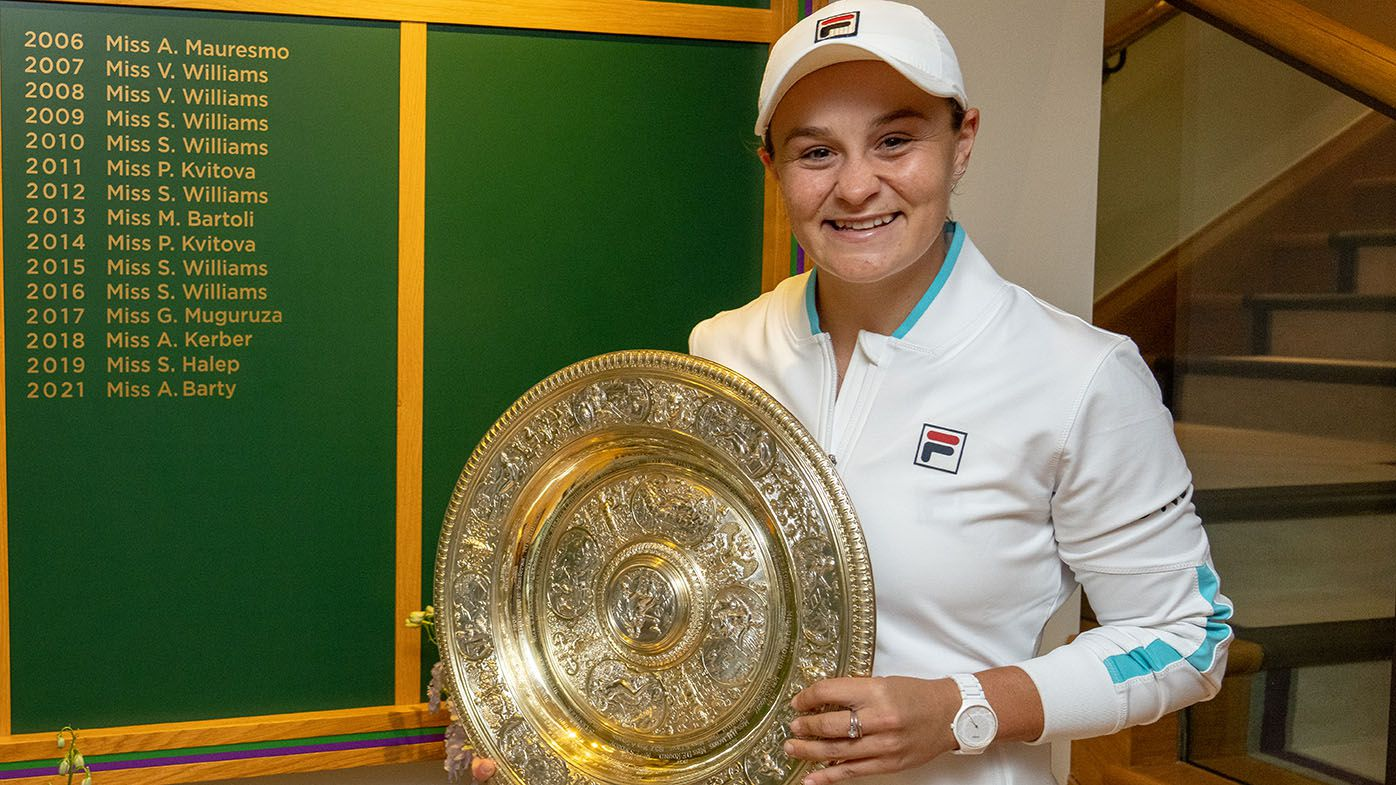 Wimbledon 2021: Ash Barty's 'miracle' win - should have been out two months injured