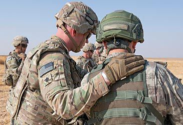 Daily Quiz: Donald Trump announced the withdrawal of US troops from which region?