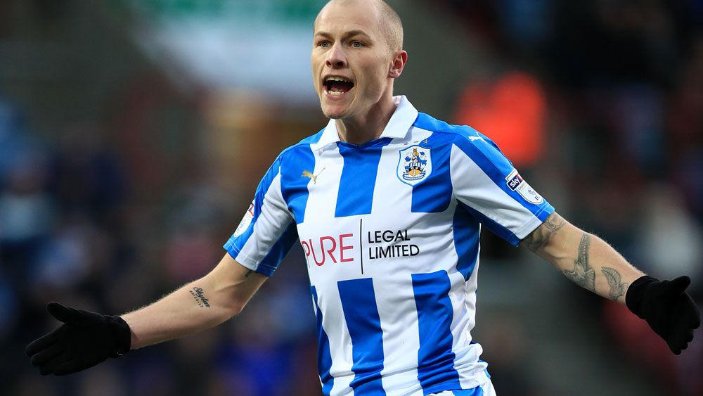 Aaron Mooy will be a key man in Huddersfield Town's push for promotion. (AAP)