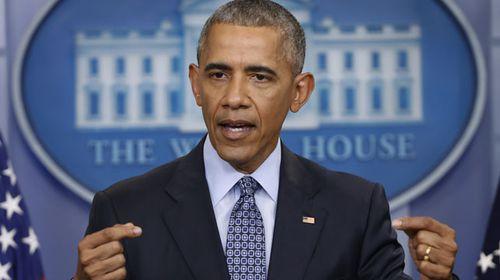 Obama breaks silence on Trump order