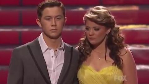 Scotty McCreery winning the 10th season of American Idol