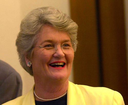 Mrs Newman was a tough-talking Tasmanian Liberal senator in the Howard government. (AAP)