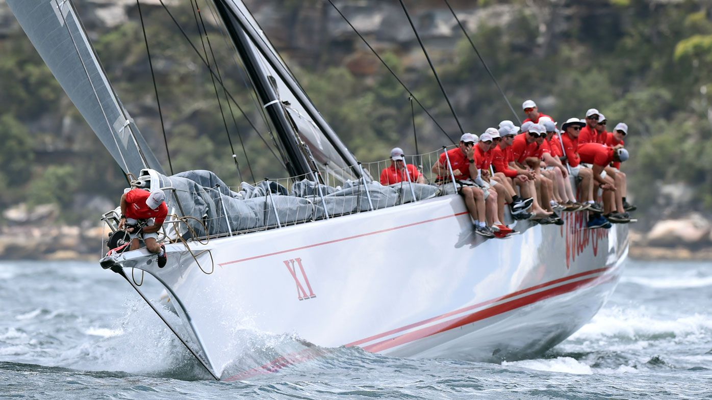 Wild Oats XI will start as line honours favourite. (AAP)