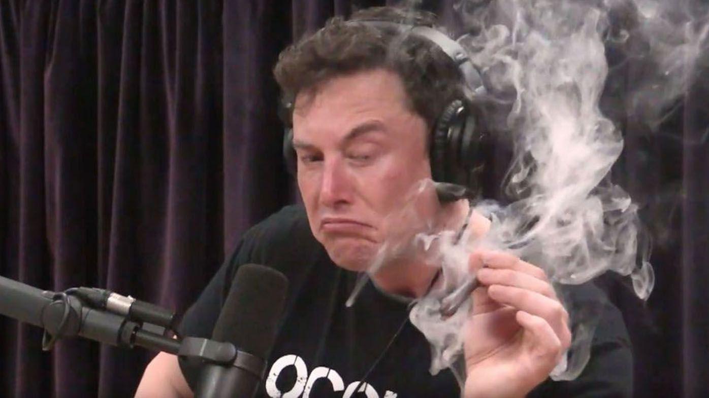 Elon Musk tells staff smoking weed with Joe Rogan was 'not wise'