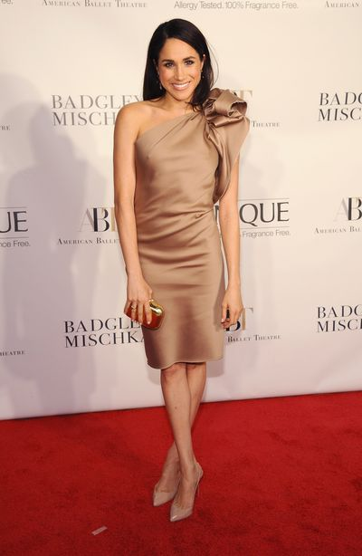 Meghan Markle at the American Ballet Theatre opening night in New York in October, 2013