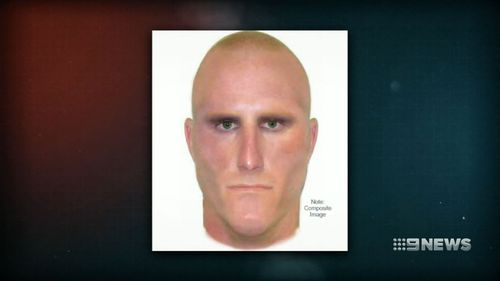 A police image of the suspected attacker. (9NEWS)