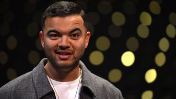 Guy Sebastian today (AAP Image/Joel Carrett).