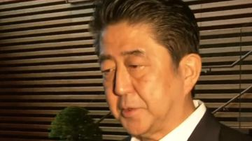 Shinzo Abe says North Korea likely fired missile over Japan