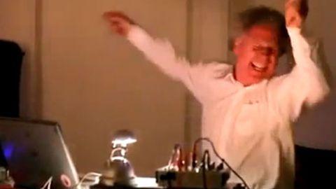 Happiest DJ on earth