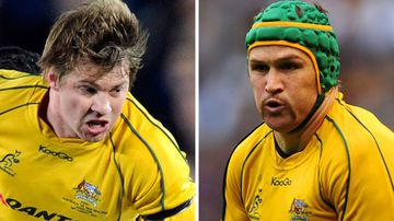 Drew Mitchell and Matt Giteau are thankful for the chance to represent Australia again after a change in selection rules regrading overseas-based players