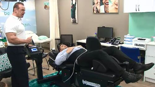 3D compression tables are now being used in Australia to treat sufferers of chronic back pain (9NEWS)