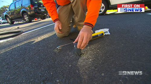 Smart sensor technology is being installed in on-street carparks throughout the CBD. (9NEWS)