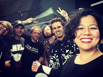 Mahalia Barnes, The Soul Mates, band, Clayton Doley, Franco Raggatt, Dave Hibbard, Lachy Doley, Ben Rodgers