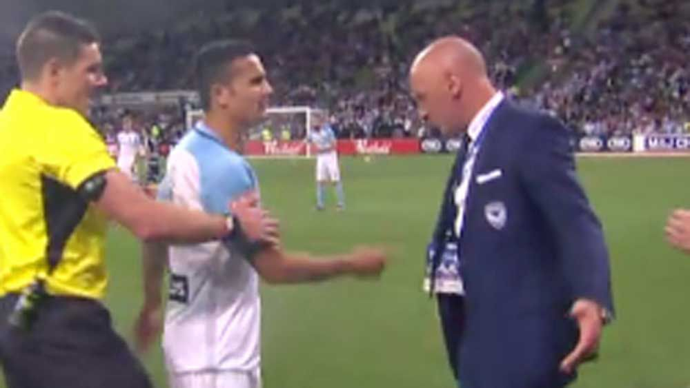 Football: Cahill, Muscat in touchline blow-up in FFA Cup