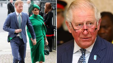 Prince Charles to pay half of Prince Harry and Meghan Markle's $4mil security bill.