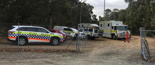 SES crews and police searched Rockingham Lakes National Park for the missing man.