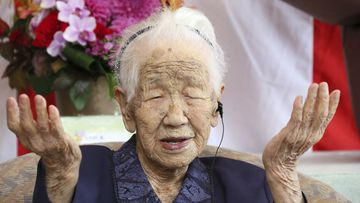 Kane Tanaka was born in 1903 and still wakes up at 6am most mornings.