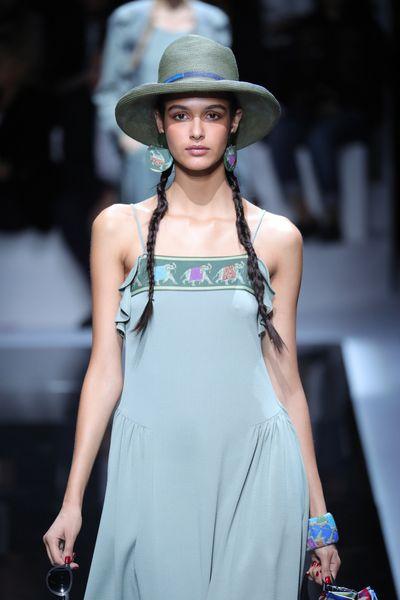 Emporio Armani, spring/summer '17, Milan Fashion Week