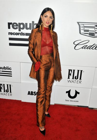 Eiza Gonzalez in Ellery at the VMA after party hosted by Republic Records