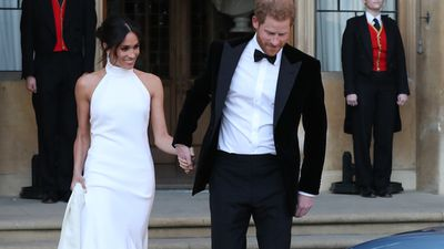 Meghan Markle debuts second wedding dress by Stella McCartney