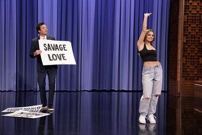Jimmy Fallon TikTok dances on Friday, March 26, 2021.