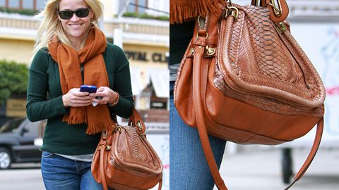 Animal rights group slams Reese Witherspoon's python bag