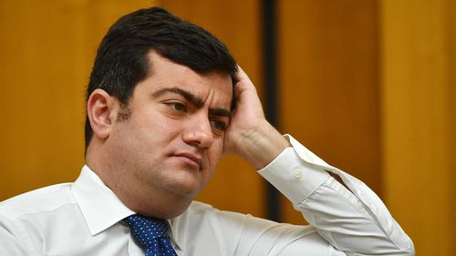 Senator Dastyari was rebuked by Labor leader Bill Shorten over claims he tipped off a donor over a possible phone tap. (AAP)
