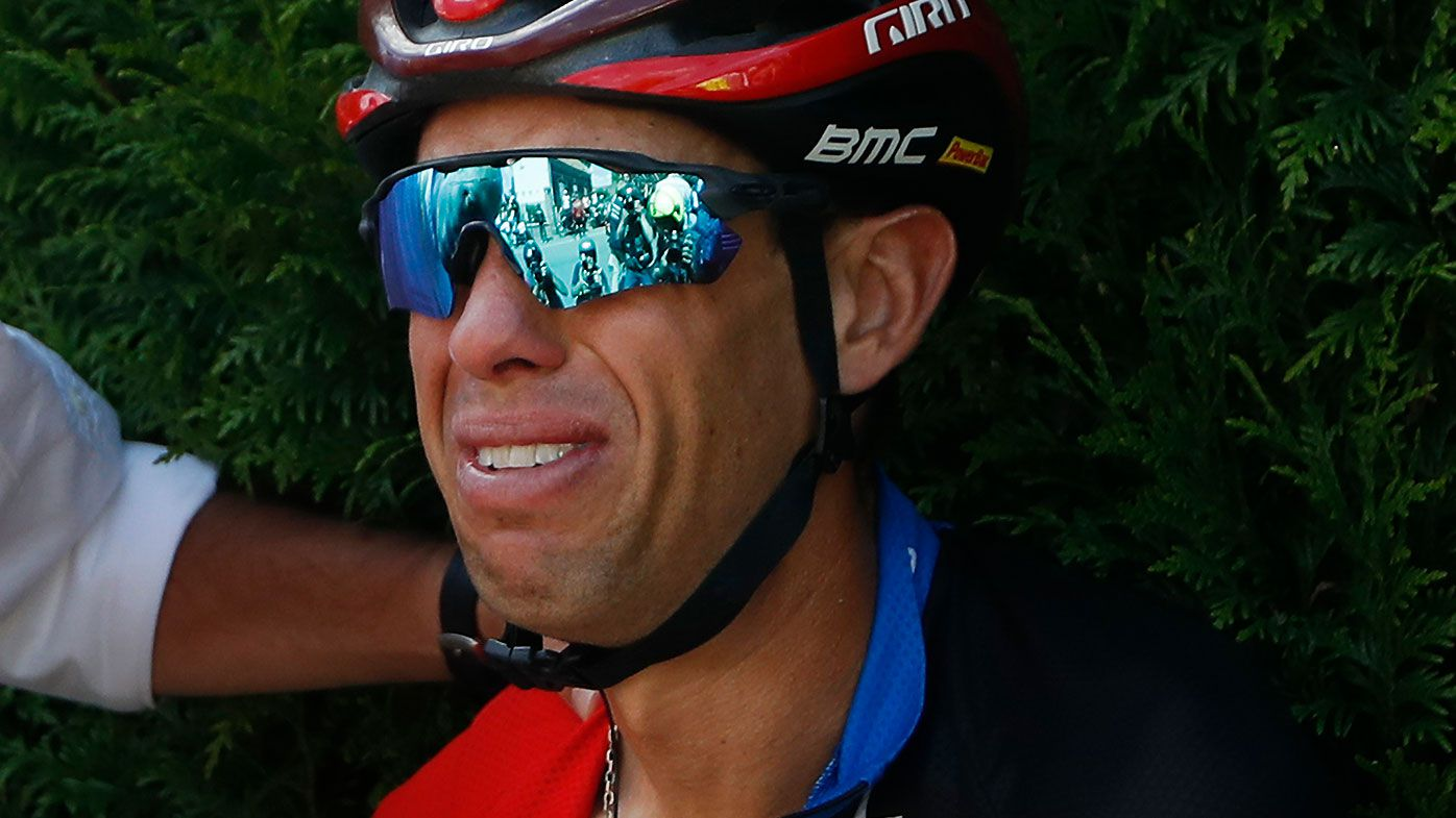 BMC Racing Team's Richie Porte crashes out of Tour de France with suspected collarbone injury