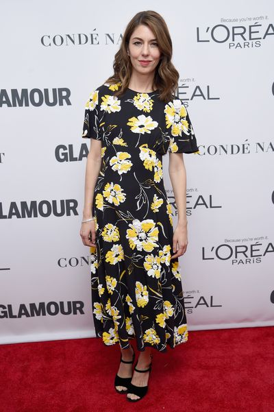 Sofia Coppola in Michael Kors at the Glamour Women of the Year Awards, November 13.