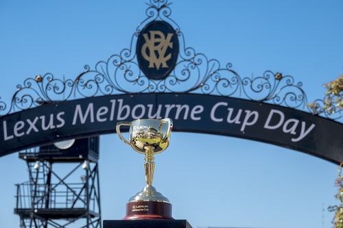 Horses involved in the Melbourne Cup are accused of being doped. (AAP)