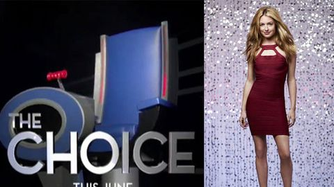 The spinning chairs from The Voice...I mean The Choice.  And Cat Deeley