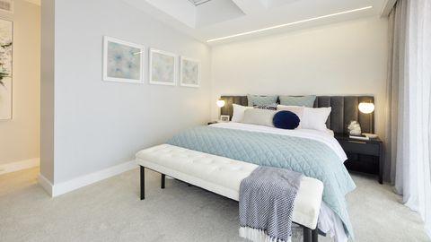 Josh and Luke Master Bedroom The Block 2021