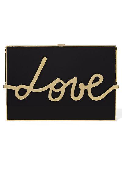 "<a href=""https://www.net-a-porter.com/au/en/product/651382/Lanvin/love-resin-and-gold-tone-box-clutch"" target=""_blank"">Clutch,$4425, Lanvin for net-a-porter.com</a>"