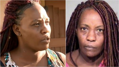 """Sharron Dobbins defended her decision, telling media she was only trying to """"put God first"""" on Easter Sunday. (9NEWS)"""