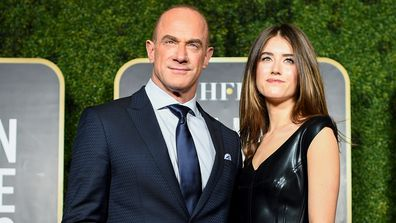 Christopher Meloni and Sophia Meloni