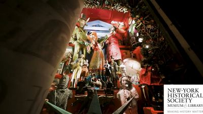 The holiday windows of the world's most luxurious department store