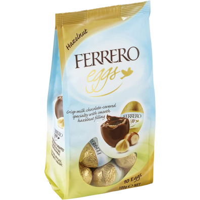 Ferrero Milk Chocolate Hazelnut Easter Eggs