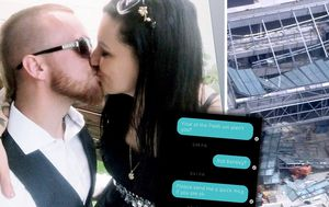 Girlfriend shares her hearbreaking final texts to Perth tradie killed in Curtin University roof collapse