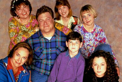 <B>Ran from:</B> 1988 to 1997. A sitcom about the struggles of an average, dysfunctional working-class family.<br/><br/><B>The snub:</B> Though both Roseanne and co-starr Laurie Metcalf won acting awards during the show's run and many of the supporting cast scored nominations, the show itself — a breakthrough in terms of portraying a realistic, working-class family and its upfront portrayal of many taboo social issues — never received a single nomination for best comedy. Meanwhile, <I>Two and a Half Men</I> has been nominated three times. Sigh.
