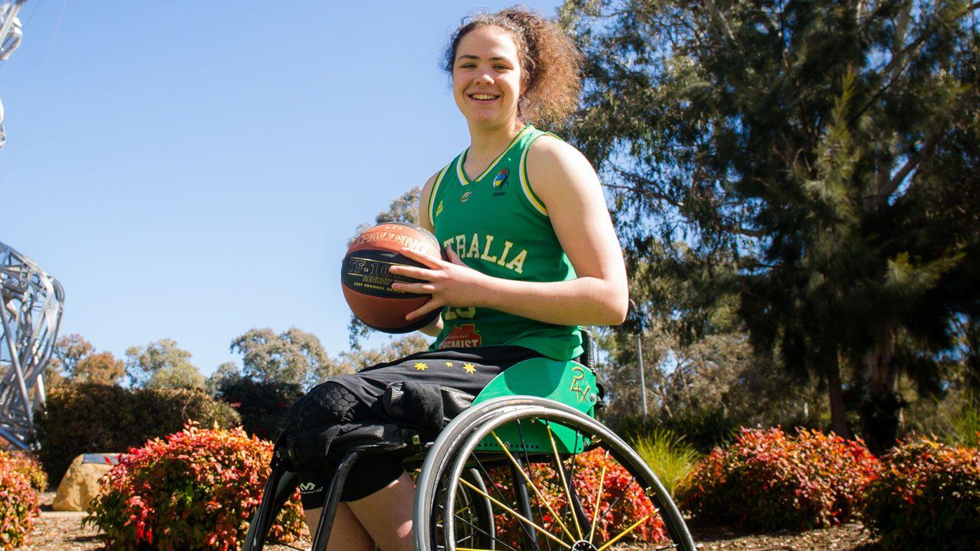 Basketball paralympian, Annabelle Lindsay