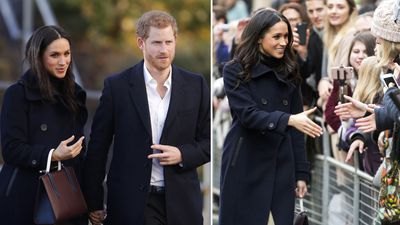 Harry and Meghan make first joint royal appearance, 1 December 2017