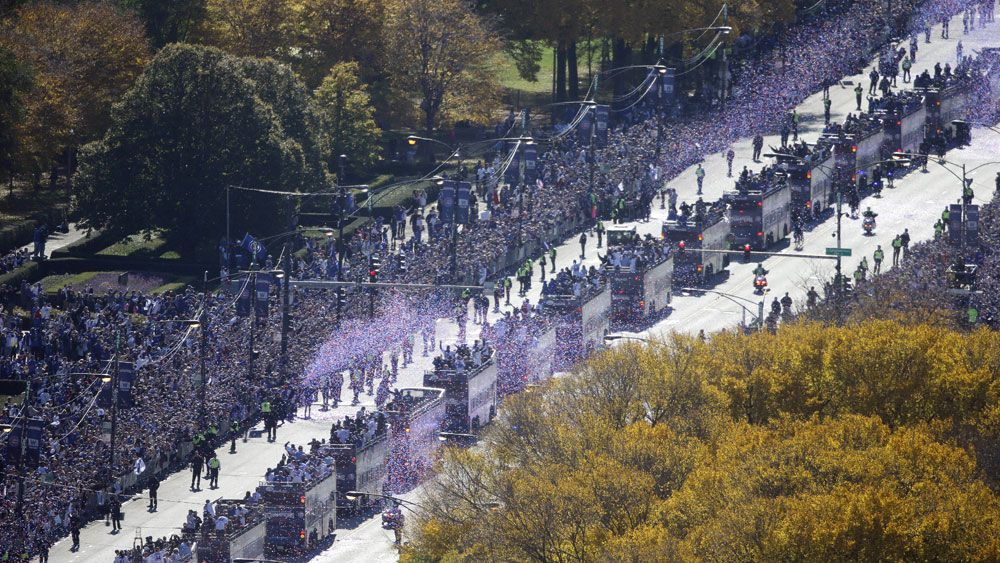 Five million attend Chicago Cubs' parade