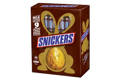 Snickers egg: 148 minutes kayaking