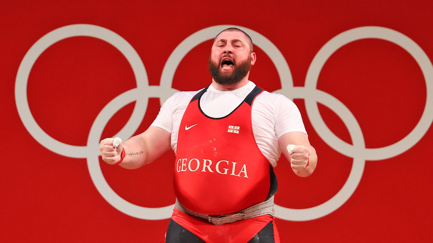 World's strongest man's warning after insane Tokyo Olympics campaign