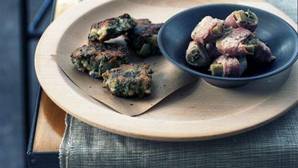 Artichokes with prosciutto