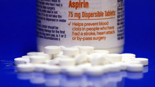 An arrangement of aspirin pills, a drug which has come under greater scrutiny in the last two years.