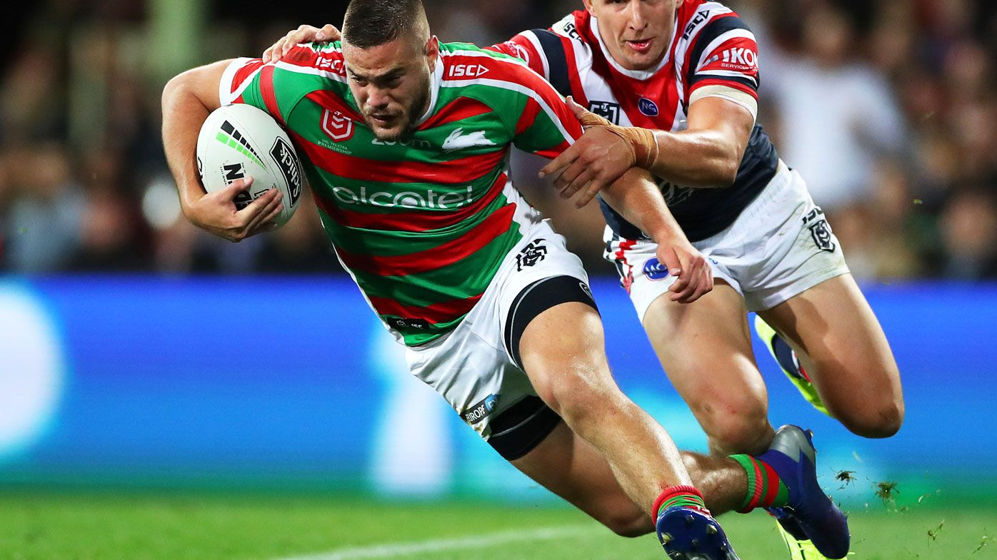 Corey Allan had a breakout year with South Sydney. (Getty)