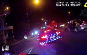 Incredible footage of police chase revealed after teen boy arrested