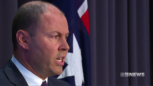 Josh Frydenberg said Australia is on track to record it's 28th year of consecutive economic growth.