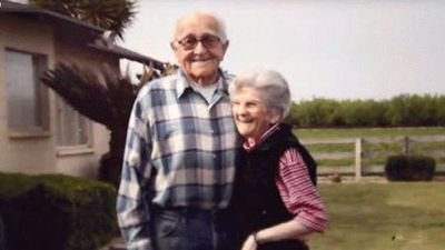 In February this year Floyd, 90, and Violet Hartwig, 89, from Fresno, California, died holding hands after 67 years of marriage. Mrs Hartwig had dementia and her husband had kidney failure.